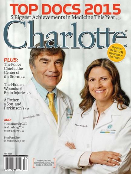 Charlotte Magazine Cover - 7/1/2015