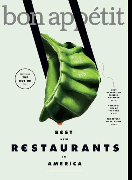 Bon Appétit Cover - 9/1/2017