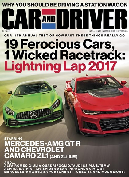Car And Driver Cover - 10/1/2017