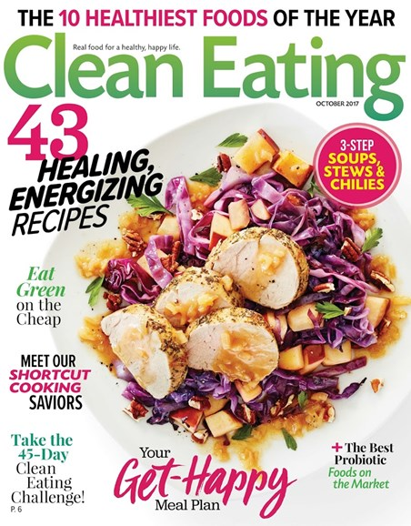 Clean Eating Cover - 10/1/2017