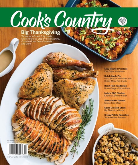 Cook's Country Cover - 10/1/2017