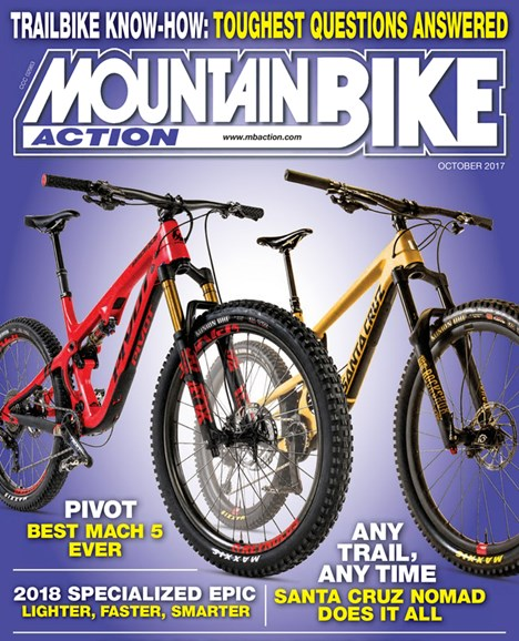 Mountain Bike Action Cover - 10/1/2017