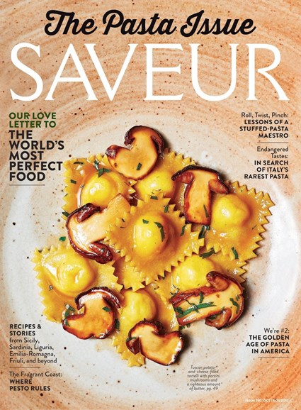 Saveur Cover - 10/1/2017