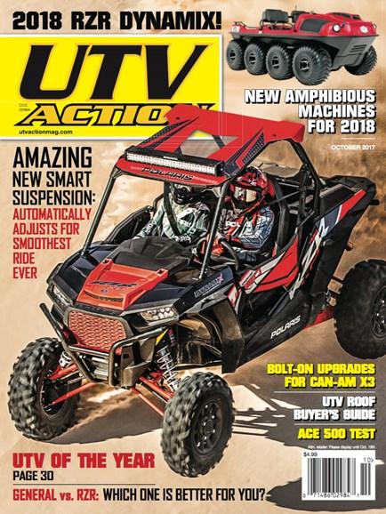 UTV Action Cover - 10/1/2017
