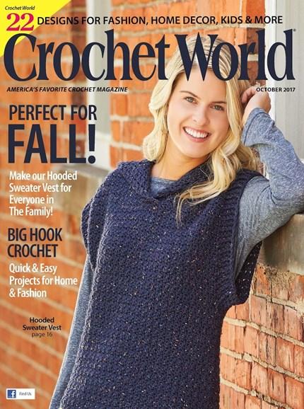 Crochet World Cover - 10/1/2017