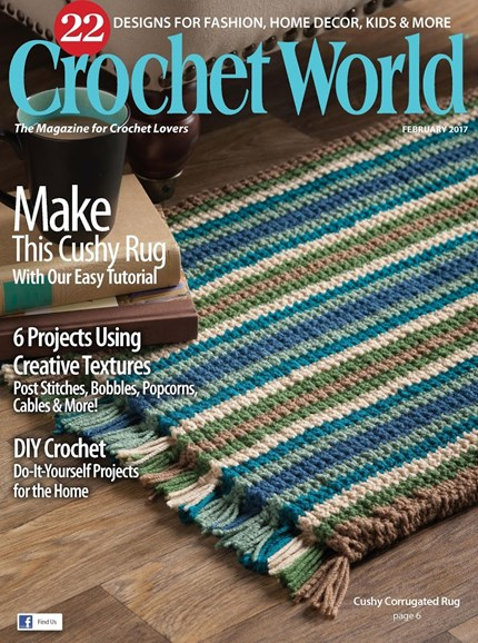 Crochet World Cover - 2/1/2017