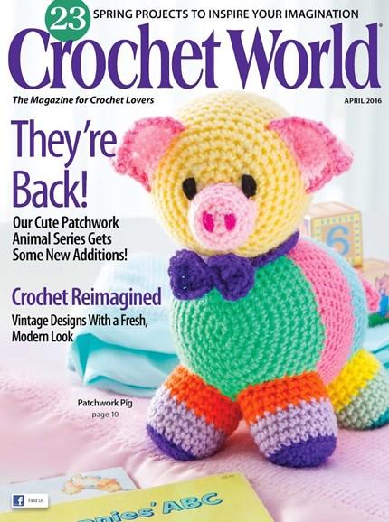 Crochet World Cover - 4/1/2016