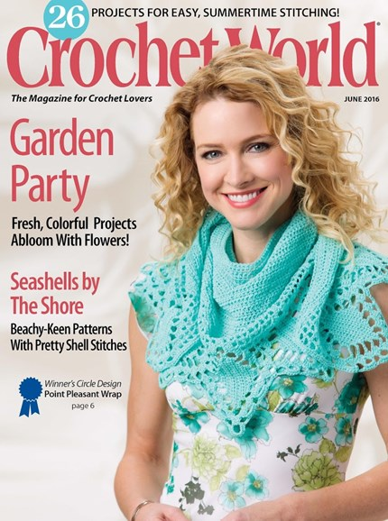 Crochet World Cover - 6/1/2016