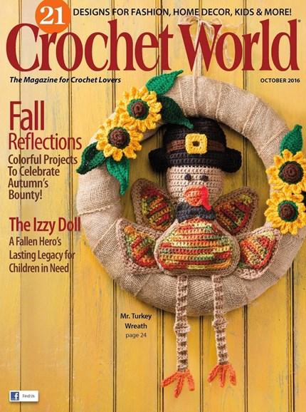 Crochet World Cover - 10/1/2016