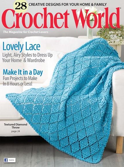 Crochet World Cover - 4/1/2015