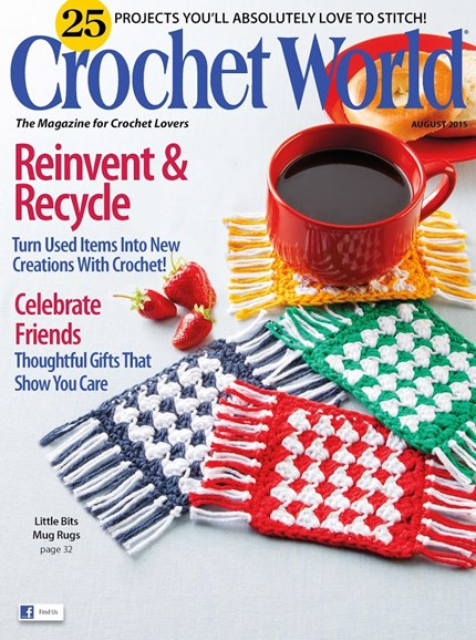 Crochet World Cover - 8/1/2015