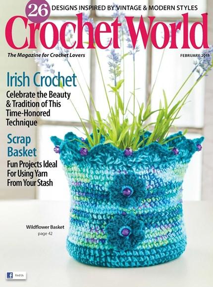 Crochet World Cover - 2/1/2015