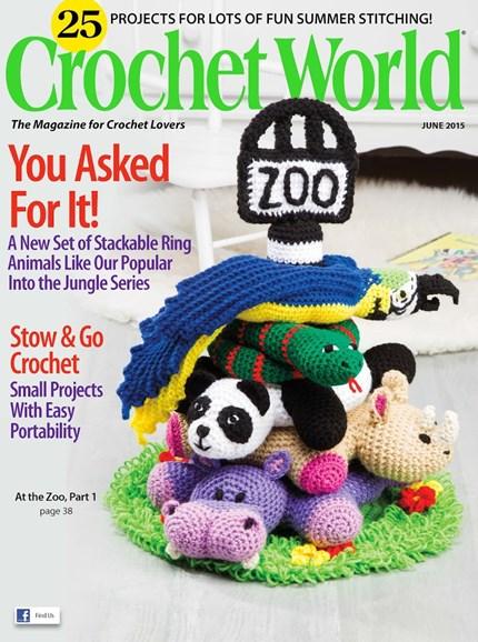 Crochet World Cover - 6/1/2015