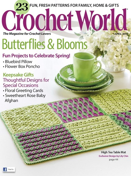 Crochet World Cover - 4/1/2014