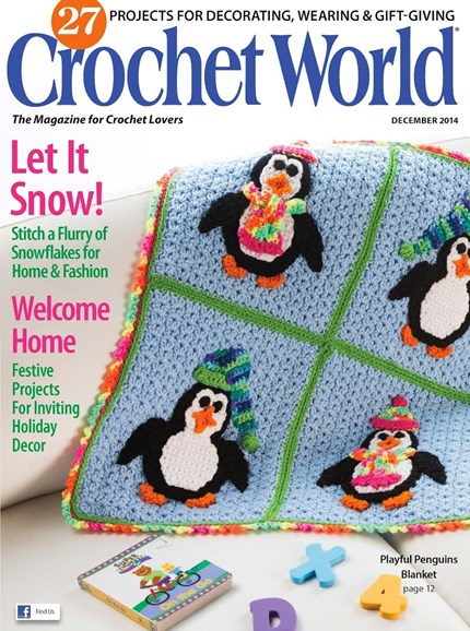 Crochet World Cover - 12/1/2014