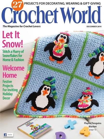 Crochet World Cover - 12/1/2014