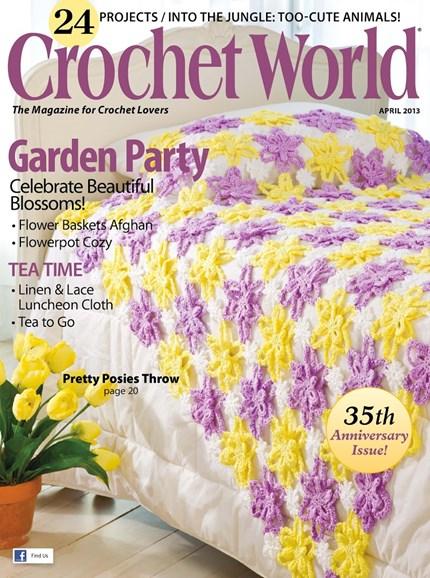Crochet World Cover - 4/1/2013