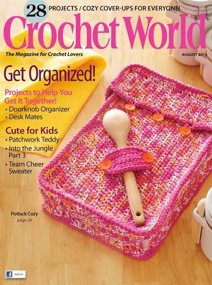 Crochet World Cover - 8/1/2013