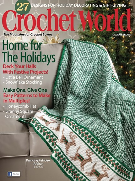 Crochet World Cover - 12/1/2013