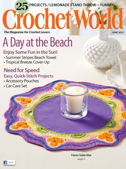 Crochet World Cover - 6/1/2013