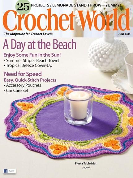 Crochet World Cover - 6/1/2013