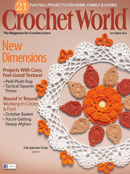 Crochet World Cover - 10/1/2013