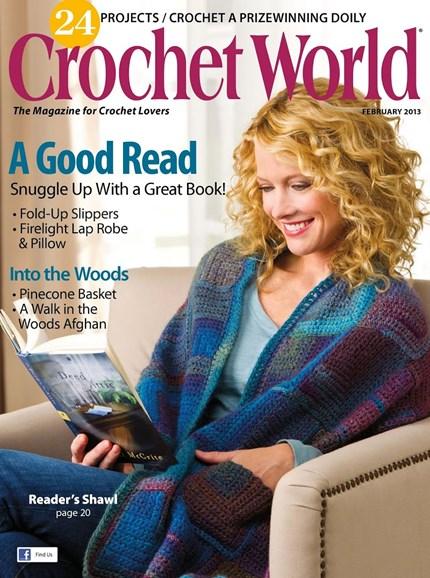 Crochet World Cover - 2/1/2013