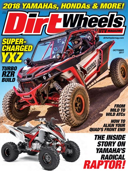 Dirt Wheels Cover - 10/1/2017