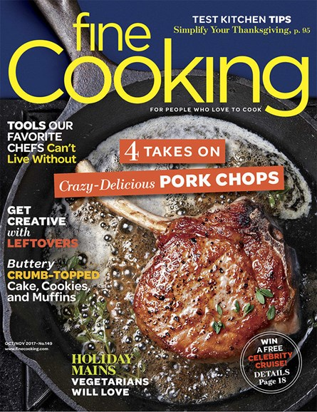 Fine Cooking Cover - 10/1/2017