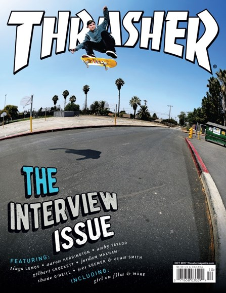 Thrasher Cover - 10/1/2017