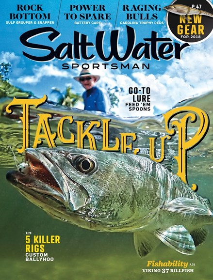 Salt Water Sportsman Cover - 10/1/2017