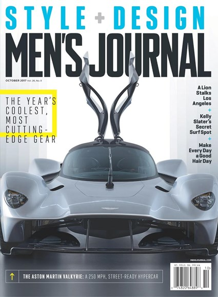 Men's Journal Cover - 10/1/2017
