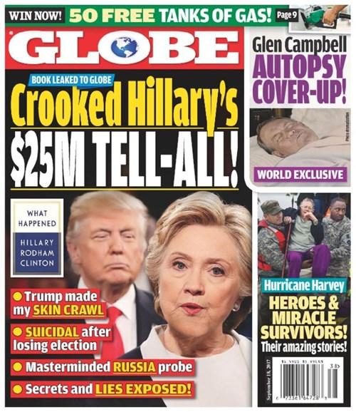 Globe Cover - 9/18/2017