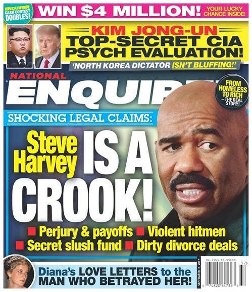 National Enquirer Cover - 9/11/2017
