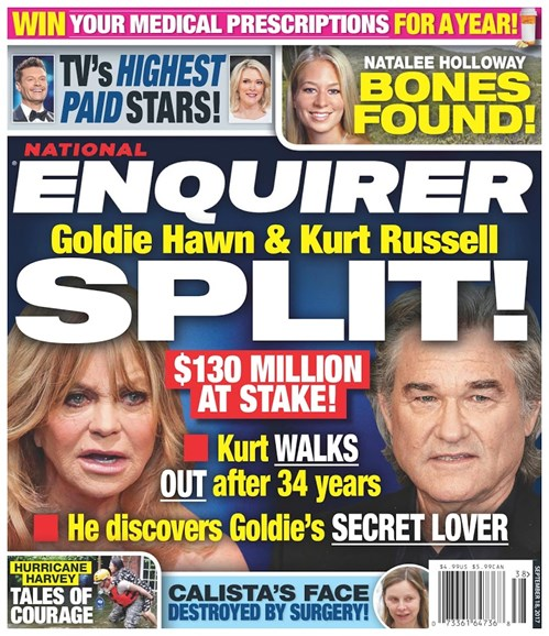National Enquirer Cover - 9/18/2017