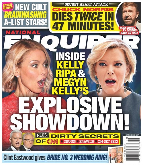 National Enquirer Cover - 9/4/2017