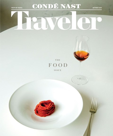 Condé Nast Traveler Cover - 10/1/2017