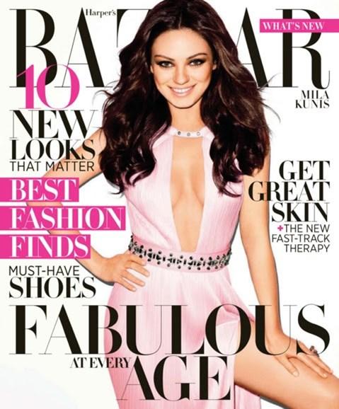 Harper's Bazaar Cover - 4/1/2012