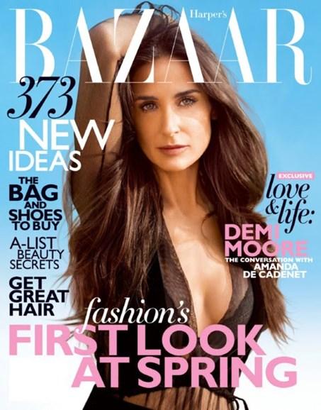 Harper's Bazaar Cover - 2/1/2012