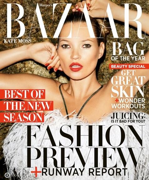 Harper's Bazaar Cover - 6/1/2012