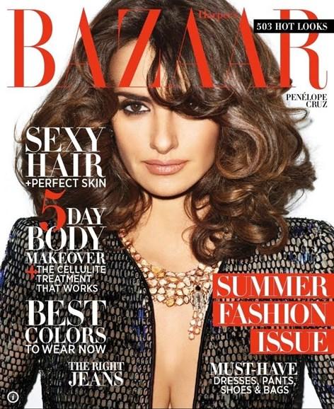 Harper's Bazaar Cover - 5/1/2012