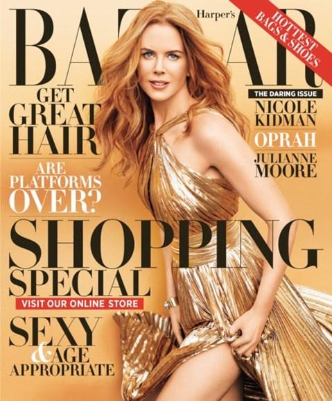 Harper's Bazaar Cover - 11/1/2012