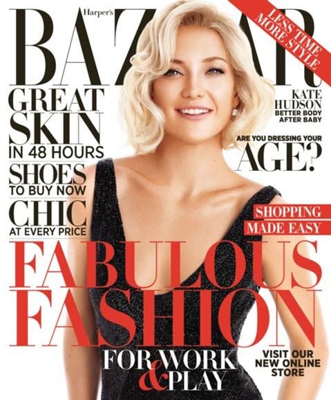 Harper's Bazaar Cover - 10/1/2012