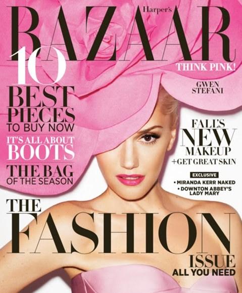 Harper's Bazaar Cover - 9/1/2012