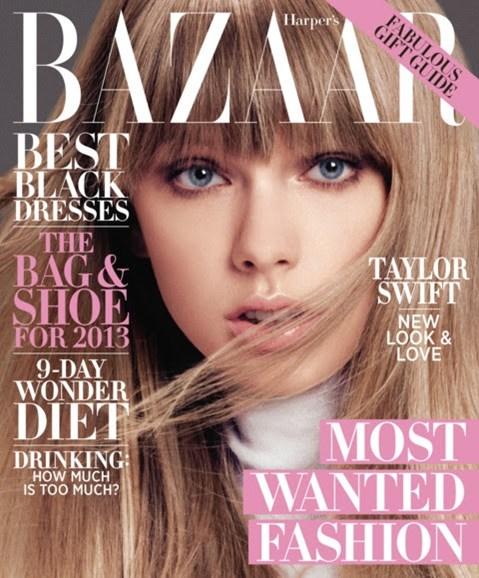 Harper's Bazaar Cover - 12/1/2012