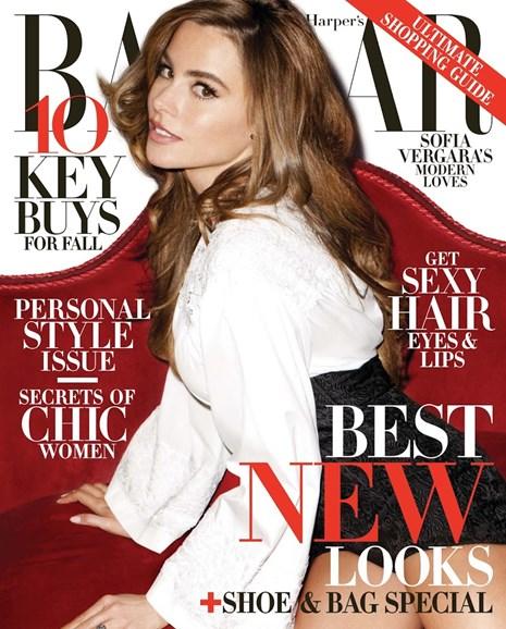 Harper's Bazaar Cover - 8/1/2013