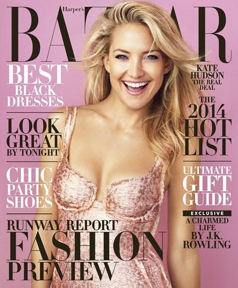 Harper's Bazaar Cover - 12/1/2013