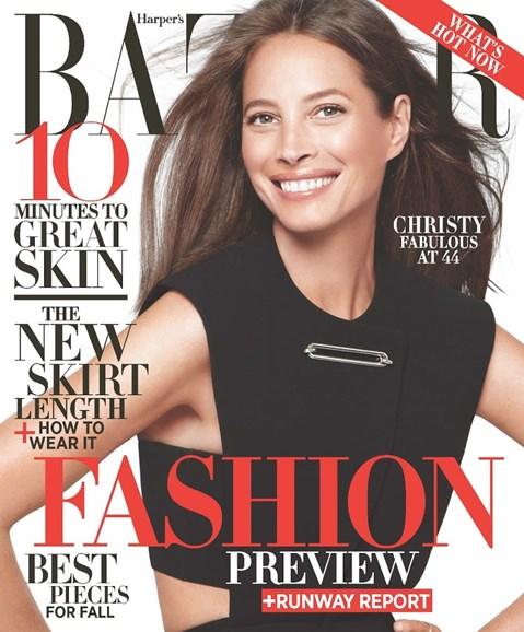 Harper's Bazaar Cover - 6/1/2013