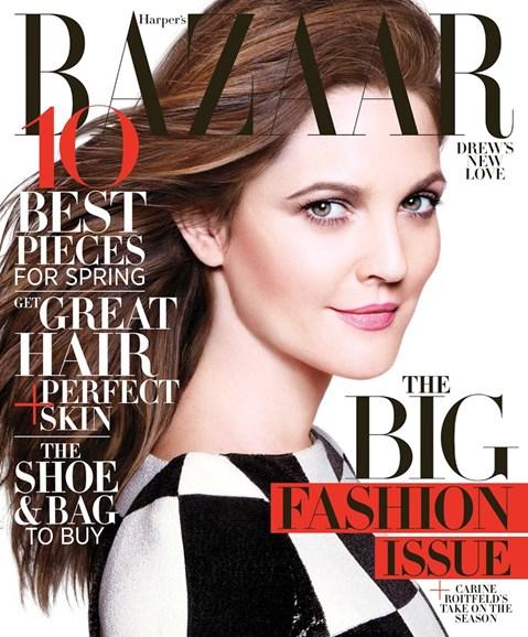 Harper's Bazaar Cover - 3/1/2013