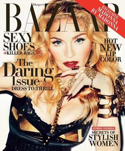 Harper's Bazaar Cover - 11/1/2013